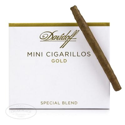 Davidoff mini gold cigarilos