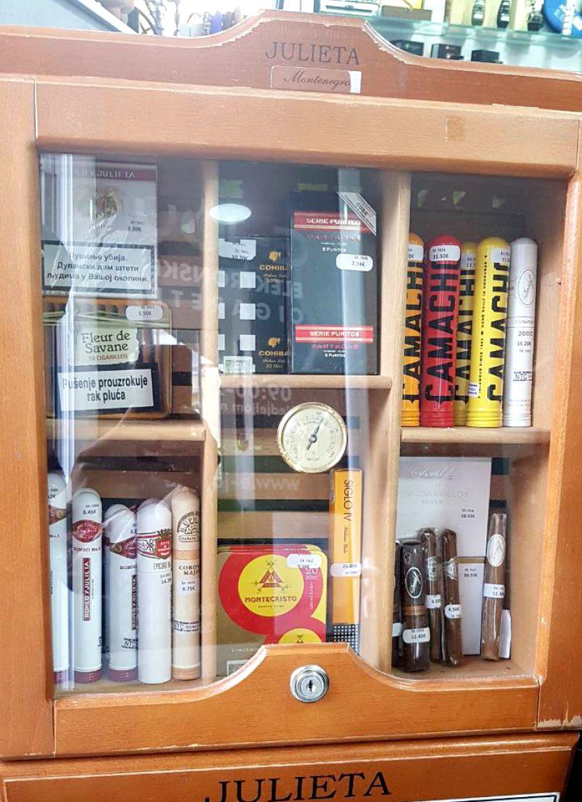 Tompusi cigare cigarilosi u Crnoj Gori - Podgorica-Bar