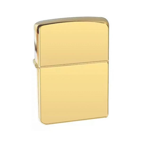 High Polish Brass zippo upaljac