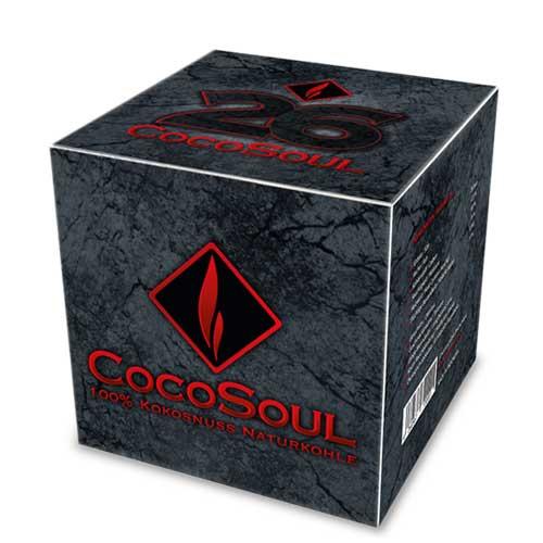 CocoSoul, kokosov ugalj za nargile (žar za nargilu) 1kg
