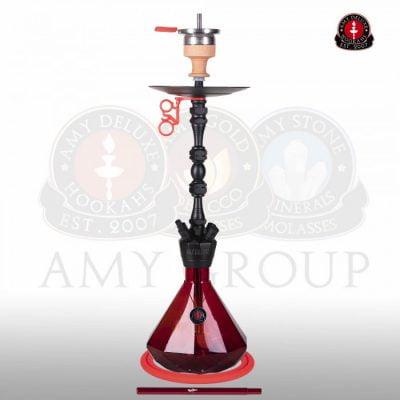 Amy Deluxe 063 Alu diamond crvena nargila