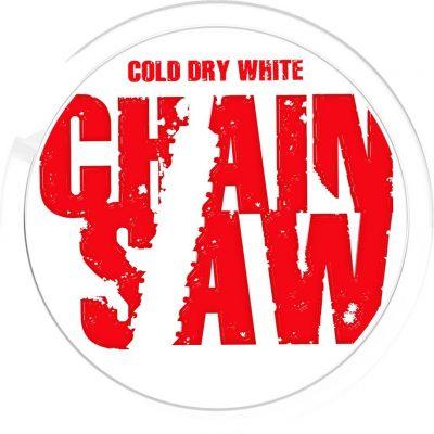 Duvan za žvakanje Chain Saw cold white dry crna gora