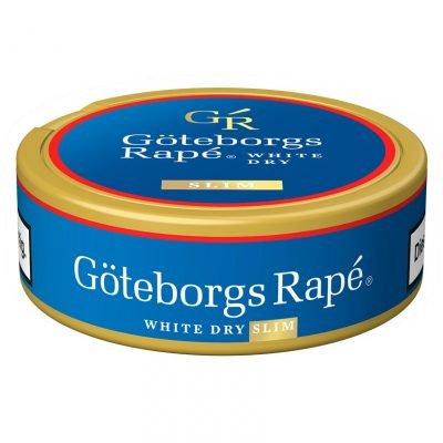 Duvan za žvakanje Goteborg Rape white dry slim crna gora