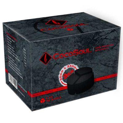 CocoSoul HMD 3er okrugli ugalj za nargilu 1kg