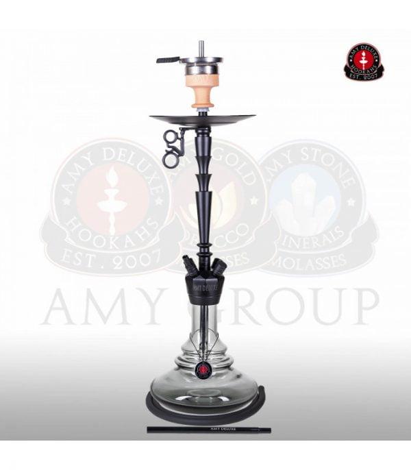 Amy Deluxe 065 Alu-X crna nargila Crna Gora