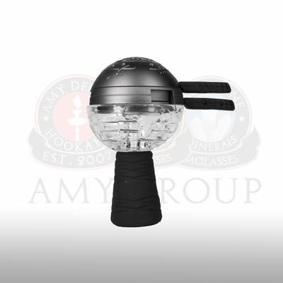 Amy Deluxe GlasSi Globe staklena glava za duvan, set
