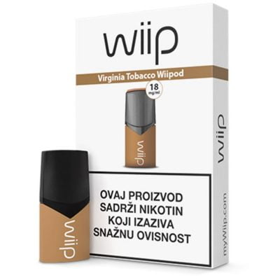 Wiipod Virginia Tobacco 18mg